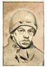 Theo van Doesburg (1883-1931)  -  Zelfportret met muts, 1905 - Postcard -  A103164-1