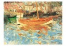 Berthe Morisot (1841-1895)  -  De haven van Nice - Postcard -  A10366-1