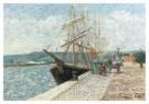 Albert Dubois-Pillet 1845-1890 -  Quai de Lessep - Postcard -  A10370-1