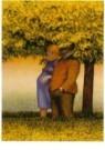 Herman Gordijn (1932-2017)  -  Wandeling - Postcard -  A10380-1