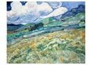 Vincent van Gogh (1853-1890)  -  Landscape from Saint-Rémy, 1889 - Postcard -  A104234-1