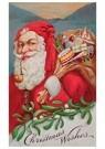 A.N.B.  -  Kerstman met een zak cadeaus - Postcard -  A104557-1