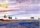 Jan Sluijters (1881-1957)  -  Ochtendgloren detail - Postcard -  A10488-1