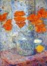 Nico van Rijn (1887-1962)  -  Boeket in een vaas (detail) - Postcard -  A10490-1