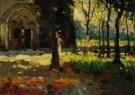 Raoul Hynckes (1893-1973)  -  Kerk Nieuwpo.detail - Postcard -  A10492-1