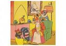 Anonymous  -  Sinterklaas zit bij de kachel - Postcard -  A105453-1