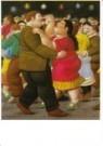 Fernando Botero (1932)  -  Dansers - Postcard -  A10550-1