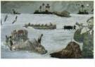 Harald Vlugt (1957)  -  Branding de zee - Postcard -  A10592-1