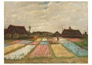 Vincent van Gogh (1853-1890)  -  Flower Beds in Holland / Bulb Fields, 1883 - Postcard -  A106363-1