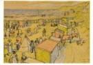 Jan Th.Toorop (1858-1928)  -  Strandgezicht - Postcard -  A10729-1
