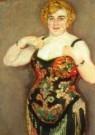 Jan Sluijters (1881-1957)  -  Artieste, detail - Postcard -  A10748-1