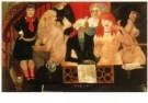 Tsuguharu Foujita (1886-1968)  -  Brothel Lupanar in - Postcard -  A10813-1