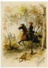 Otto Eerelman (1839-1926)  -  Scene uit het boek - Postcard -  A10868-1