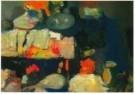 Kees Verwey (1900-1995)  -  Tafel in atelier - Postcard -  A10916-1