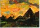 Kees Verwey (1900-1995)  -  Landschap boerderijen - Postcard -  A10921-1