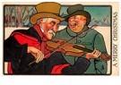 A.N.B.  -  Kerstmuzikanten in de sneeuw - Postcard -  A109818-1