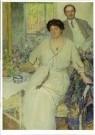 Richard Miller (1875-1943)  -  Portrait van Anna & Wiliam Singer - Postcard -  A11027-1