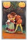 A.N.B.  -  Jongen geeft meisje een kus - Postcard -  A110675-1