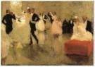 Marius Bauer (1867-1932)  -  Het bal, 1888 - Postcard -  A11085-1