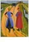 Jan Altink (1885-1971)  -  J. Altink/Na het bezoek - Postcard -  A11118-1