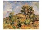 Paul Cezanne (1839-1906)  -  Landschap bij Aix met de Tour de Cesar - Postcard -  A11152-1