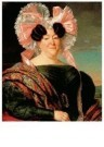 Jan Adam Kruseman (1804-1862)  -  Damesportrait - Postcard -  A11155-1