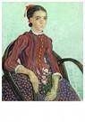Vincent van Gogh (1853-1890)  -  La Mousmé, 1888 - Postcard -  A111799-1