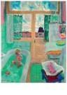Jan Sluijters (1881-1957)  -  Badkamer, 1950 - Postcard -  A11275-1