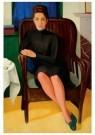 Paul Citroen (1896-1983)  -  Portret van Corry Muhlenfeld, 1939 - Postcard -  A11336-1