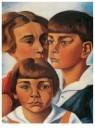 Charlie Toorop (1891-1955)  -  Portret van de kinderen Radecker - Postcard -  A11368-1