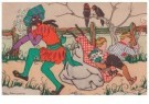 Ella Riemersma (1903-1993)  -  Prentenbriefkaart uit de serie St. Nicolaas,1925 - Postcard -  A11387-1