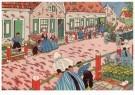 Ella Riemersma (1903-1993)  -  Uit: Van Vier Vroolijke Klantjes uit het Zouteland - Postcard -  A11398-1