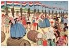 Ella Riemersma (1903-1993)  -  Uit: Van Vier Vroolijke Klantjes uit het Zouteland - Postcard -  A11399-1