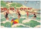 Ella Riemersma (1903-1993)  -  Uit: Van Vier Vroolijke Klantjes uit het Zouteland - Postcard -  A11400-1