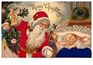 A.N.B.  -  Kerstman brengt cadeaus bij een slapend kind - Postcard -  A114523-1