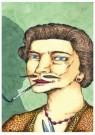 Brecht (1953-2010)  -  De gesnorde vrouw - Postcard -  A11459-1