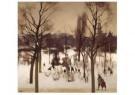 Willem Witsen (1860-1923)  -  Wintergezicht Oosterpark Amsterdam, 1900 - Postcard -  A11651-1