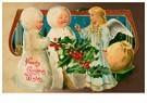 A.N.B.  -  Drie kerstengelen - Postcard -  A116564-1