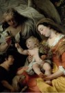 Ferdinand Bol (1616-1680)  -  The Virgin and Child with the infant Saint John - Postcard -  A11657-1