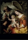 Ferdinand Bol (1616-1680)  -  The Virgin and Child with the informant Saint John - Postcard -  A11659-1