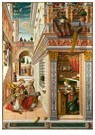 -  The Annunciation, with Saint Emidius, 1486 - Postcard -  A118134-1