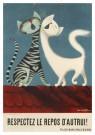 Donald Brun (1909-1999)  -  Respectez le repos d'autrui] - Postcard -  A11831-1