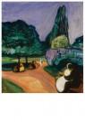 Edvard Munch (1863-1944)  -  Zomernacht in Studenterlunden, 1899 - Postcard -  A11899-1