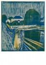 Edvard Munch (1863-1944)  -  Meisjes op een brug, 1918 - Postcard -  A11903-1