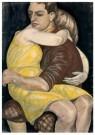 Kurt Gunther (1893-1955)  -  Liefdespaar, 1928 - Postcard -  A11911-1