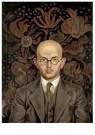 Otto Griebel (1895-1972)  -  Portret van Herbert Burckhardt - Postcard -  A11916-1