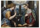 Il Moretto da Brescia1498-1554 -  Annunciatie, 1535-1540 - Postcard -  A11979-1