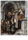 Il Moretto da Brescia1498-1554 -  De heilige Nicolaas van Bari presenteert Rovelio's - Postcard -  A11984-1