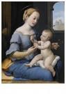 Raphaël Sanzio (1483-1520)  -  Rafaël(atelier), Maria met kind, ca.1520-1530 - Postcard -  A11987-1