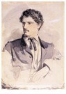 Winslow Homer (1836-1910)  -  Charles Savage Homer, Jr., circa 1860 - Postcard -  A120045-1